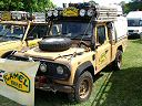 Camel Trophy Landrover Defender 110 Hi-Cap pick up