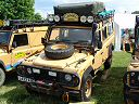 Landrover Defender 110 Camel Trophy vehicle