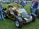 Yellow and black on and off road buggy