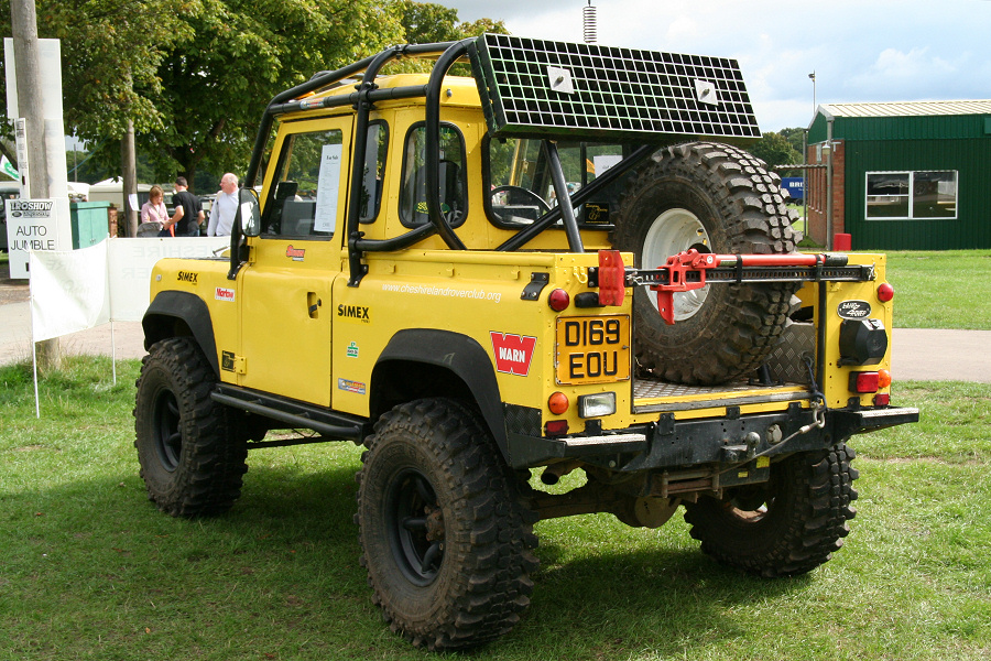 land rover defender 110 crew cab  Yellow90-03