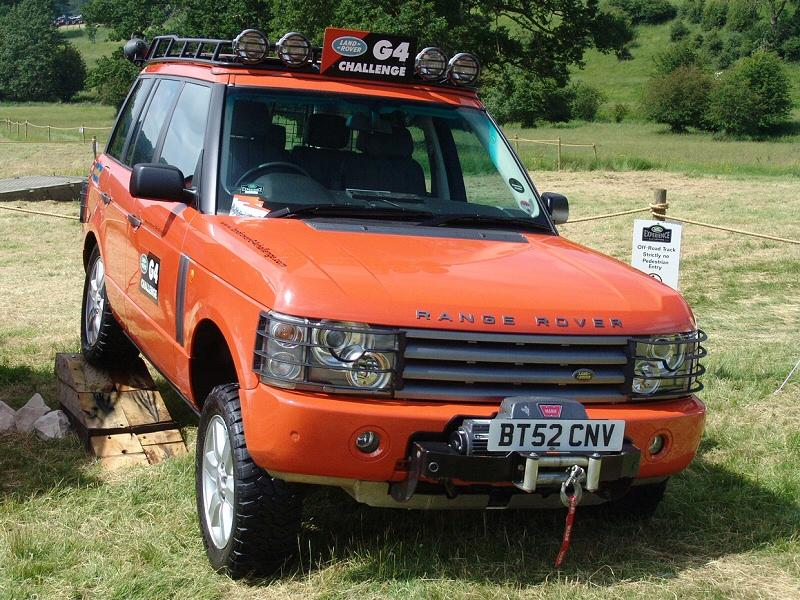 Adrian S Tomcat 100 Quot G4 Challenge Land Rovers