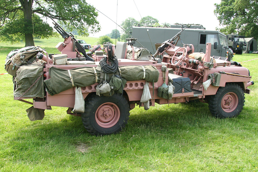 Are these the coolest military vehicles on sale?