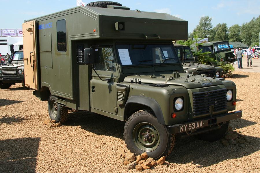 "Adrian's Tomcat 100"" - Land Rover 127 - 130"