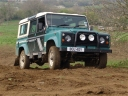 Landrover 110 support vehicle